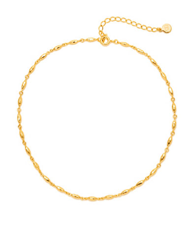 Gorjana Nora 18K Goldplated Choker Necklace-GOLD-One Size