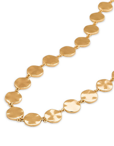 Gorjana Choker Necklace-GOLD-One Size