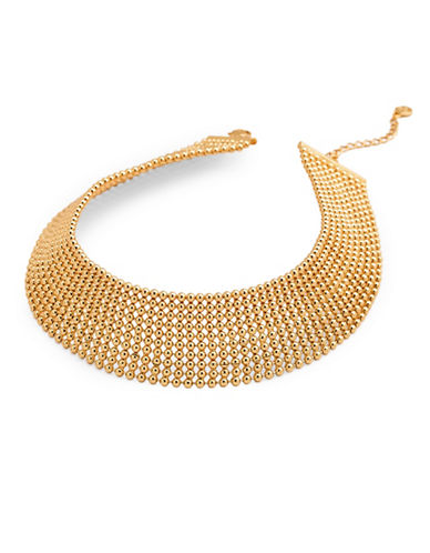Gorjana Link Choker Necklace-GOLD-One Size