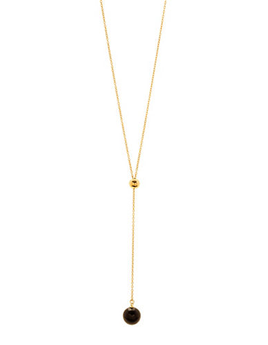 Gorjana Newport Adjustable Lariat Necklace-GOLD-One Size