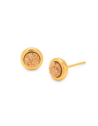 Gorjana Astoria Stud Earrings-ROSE GOLD-One Size