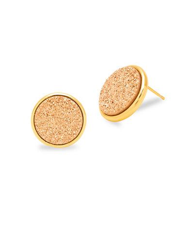 Gorjana Astoria Large Stud Earrings-ROSE GOLD-One Size