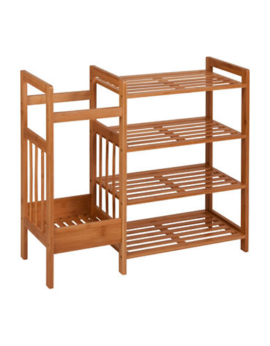 Honey Can Do Bamboo Entryway Organizer-BAMBOO-One Size