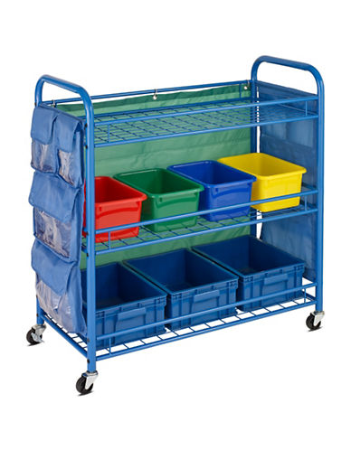 Honey Can Do All-Purpose Teaching Cart-BLUE-One Size