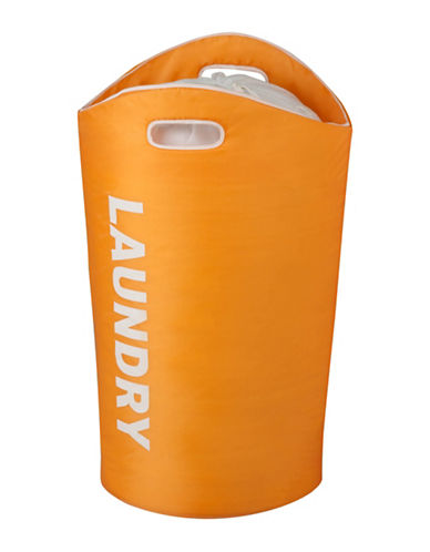 Honey Can Do Laundry Tote-ORANGE-One Size