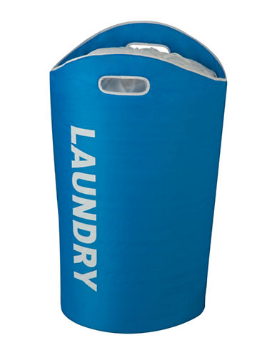 Honey Can Do Laundry Tote-BLUE-One Size