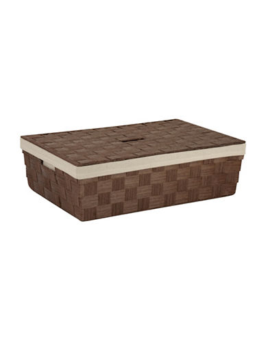 Honey Can Do Large Under-The-Bed Storage Basket-BROWN-One Size