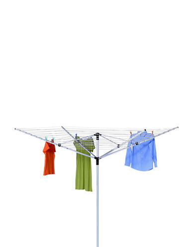Honey Can Do Inground Umbrella Dryer-CHROME-One Size