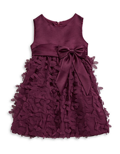 Princess Faith Petal Dress and Bloomers Two-Piece Set-PURPLE-6X