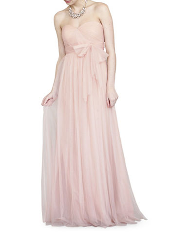 Jenny Yoo Annabelle Convertible Tulle Gown-CAMEO PINK-4