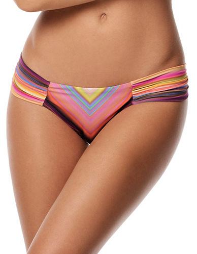 Pily Q Fanned Bikini Bottoms-MULTI-Medium