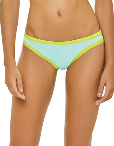 Pily Q Sporty Full Bikini Bottom-BLUE-Large D