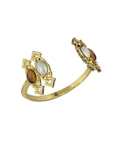 House Of Harlow 1960 Lady Of Grace Cuff Bracelet-GOLD-One Size