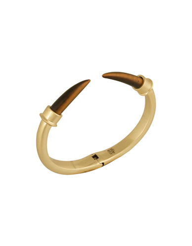 House Of Harlow 1960 Horns of Catoblepas Cuff-GOLD-One Size