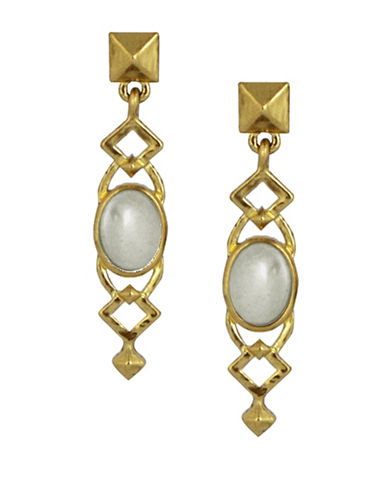 House Of Harlow 1960 Lady Of Grace Drop Earrings-GOLD-One Size