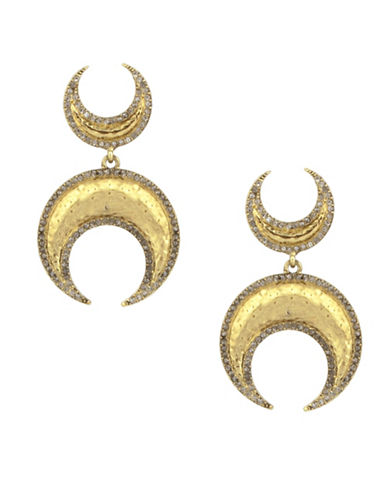House Of Harlow 1960 Gift of Iah Dangle Earrings-GOLD-One Size