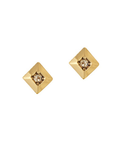 House Of Harlow 1960 The Lyra Goldtone Stud Earrings-GOLD-One Size