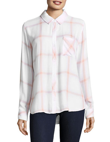 Rails Hunter Plaid Shirt-WHITE-Small