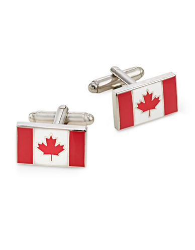 Cufflinks Inc. Canada Flag Cufflinks-RED-One Size