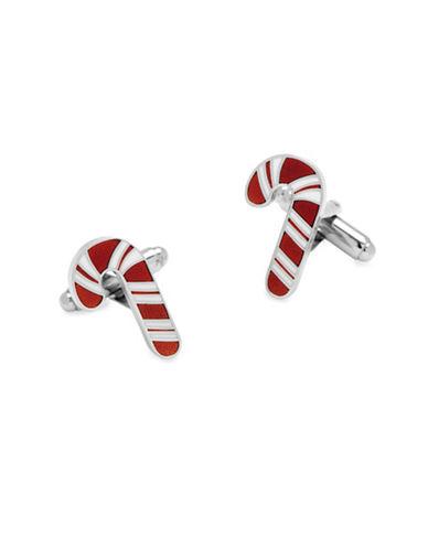 Cufflinks Inc. Candy Cane Cufflinks-SILVER-One Size