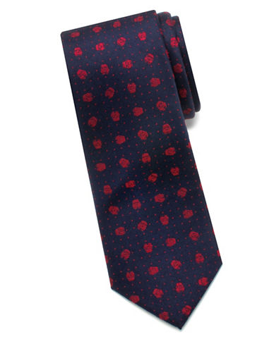 Cufflinks Inc. Star Wars Stormtrooper Dotted Silk Tie-BLUE-One Size
