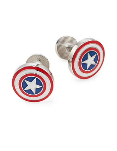 Cufflinks Inc. Captain America Cufflinks-RED-One Size