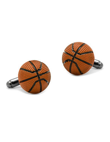 Cufflinks Inc. Basketball Cufflinks-SILVER-One Size