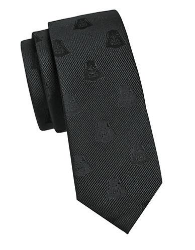 Cufflinks Inc. Darth Vader Slim Silk Tie-BLACK-One Size