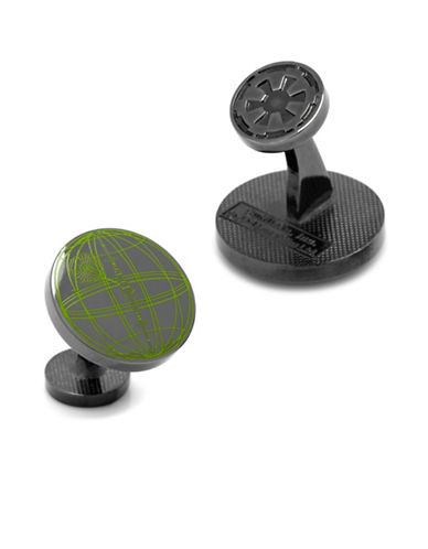 Cufflinks Inc. Star Wars Rogue One Death Star Blueprint Plans Cufflinks-BLACK-One Size 88847806_BLACK_One Size