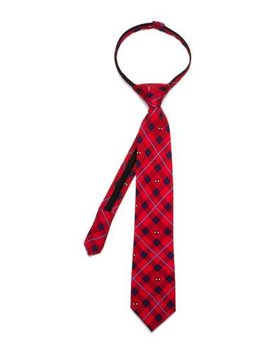 Cufflinks Inc. Marvel Comics Spiderman Zipper Silk Tie-RED-One Size