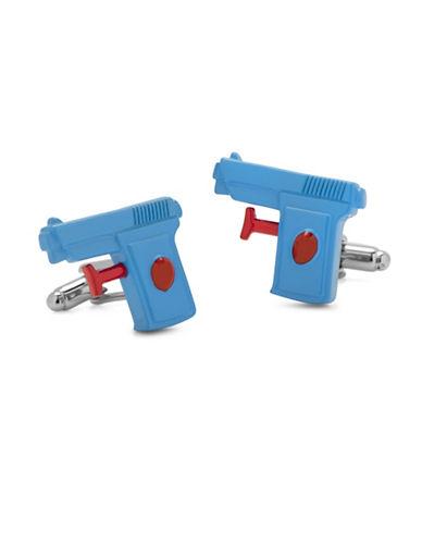 Cufflinks Inc. 3D Watergun Cufflinks-BLUE-One Size