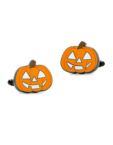 Cufflinks Inc. Jack-O-Lantern Cuff Links-ORANGE-One Size