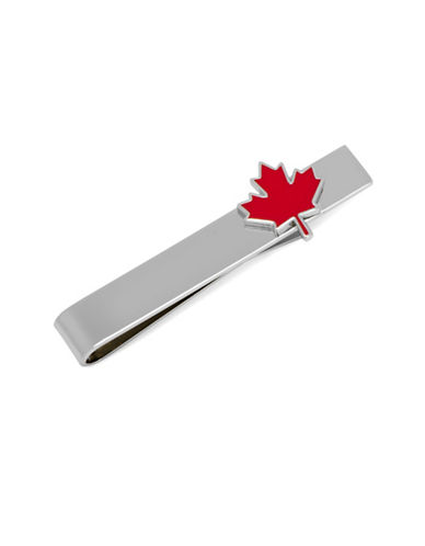 Cufflinks Inc. Maple Leaf Tie Bar-RED-One Size