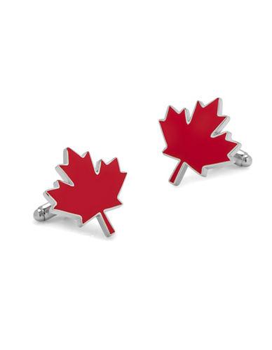Cufflinks Inc. Maple Leaf Cufflinks-RED-One Size