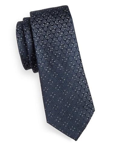 Cufflinks Inc. Darth Vader Diamond Silk Tie-BLACK/GREY-One Size