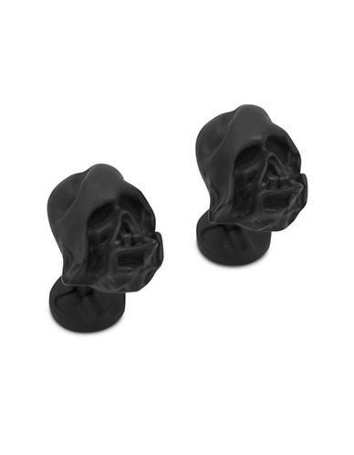 Cufflinks Inc. 3D Melted Darth Vader Helmet Cuff Links-BLACK-One Size