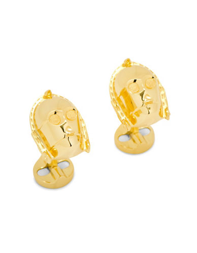 Cufflinks Inc. 3D C3PO Cuff Links-GOLD-One Size