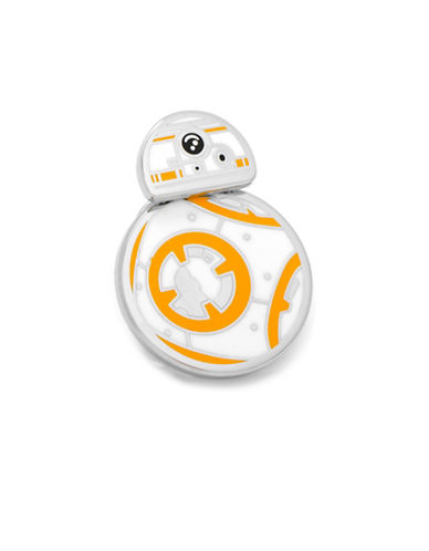 Cufflinks Inc. Spinning BB-8 Lapel Pin-WHITE-One Size
