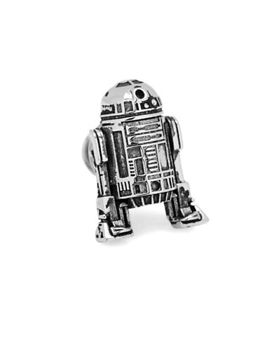 Cufflinks Inc. 3D R2D2 Lapel Pin-SILVER-One Size