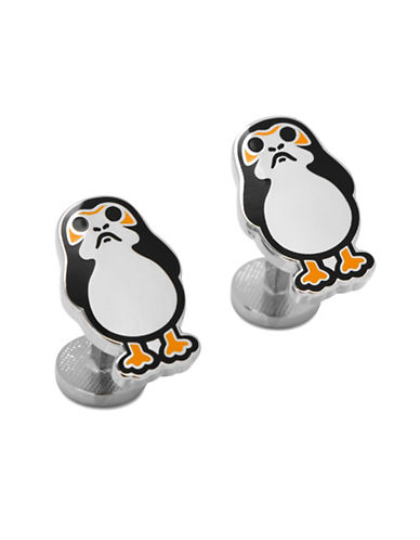 Cufflinks Inc. Porg Cuff Links-SILVER-One Size