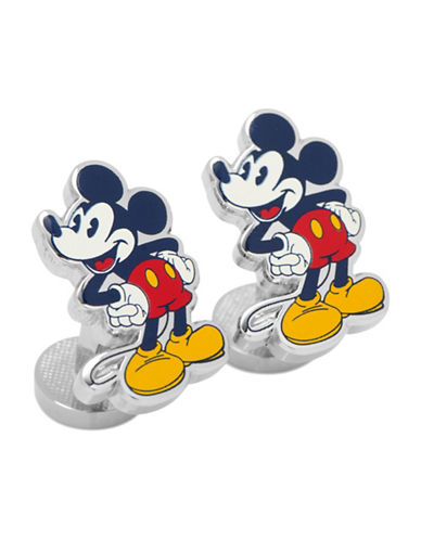 Cufflinks Inc. Mickey Mouse Vintage Pose Cufflinks-RED-One Size