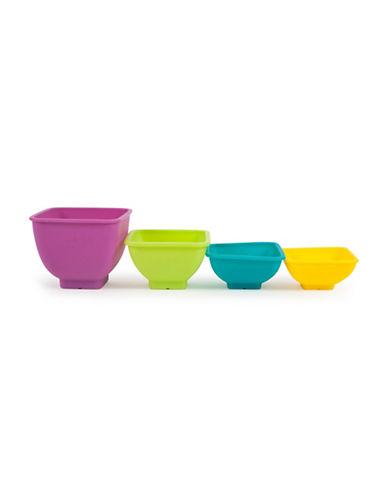 Core Home Four-Piece Juneau Square Pinch Bowl-PURPLE-One Size