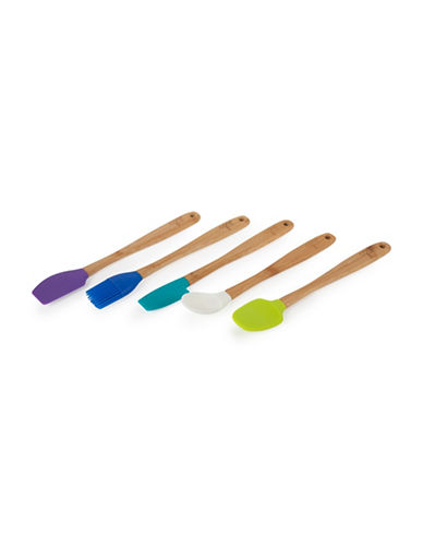 Core Home Five-Piece Rhodes Mini Utensil Set-ASSORTED-One Size