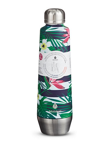 Core Home 18oz Moda Tropical Floral Travel Bottle-MULTI-18oz