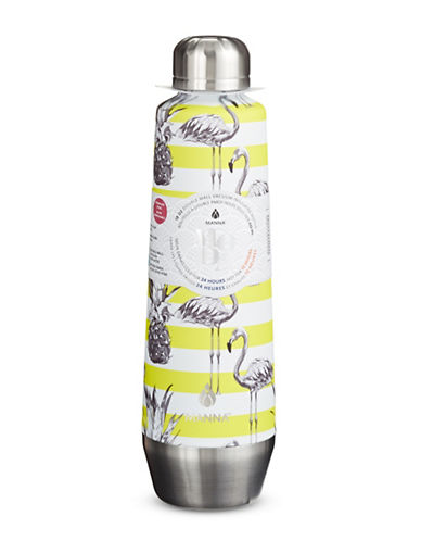 Core Home 18oz Flamingo Stripe Moda Bottle-YELLOW-18oz