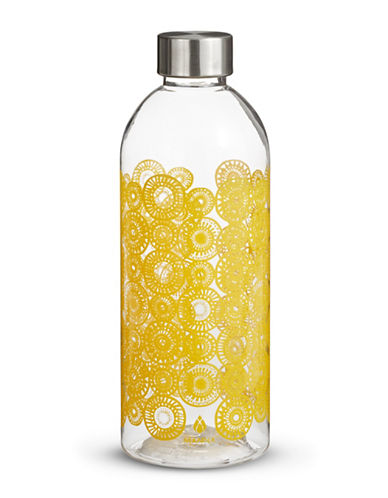 Core Home 34oz Shatter Proof Tritan Fashion Water Bottle-YELLOW-One Size