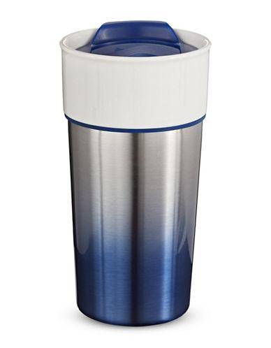 Core Home 16oz Ceramic to Go Mug-BLUE-16 Ounces