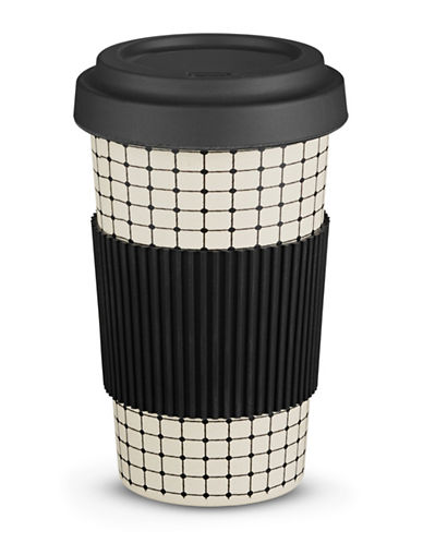 Core Home 21oz Bamboo Fibre to Go Travel Mug-BLACK-21 Ounces