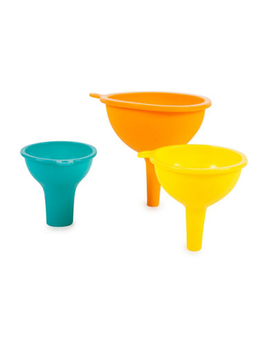 Core Home Three-Piece Silicone Funnels-ASSORTED-3pc