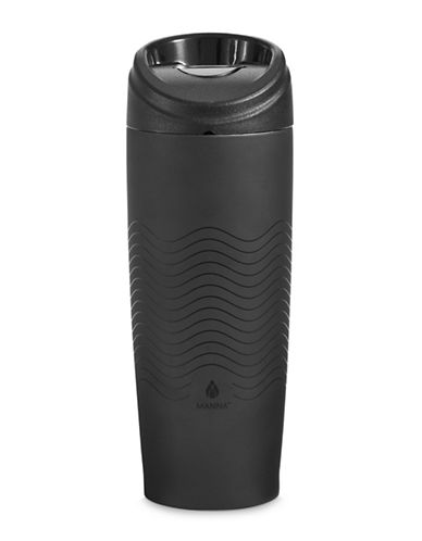 Core Home 12oz Stainless Steel Travel Cup-BLACK-One Size